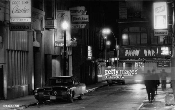 'Combat Zone' on LaGrange Street in South Boston