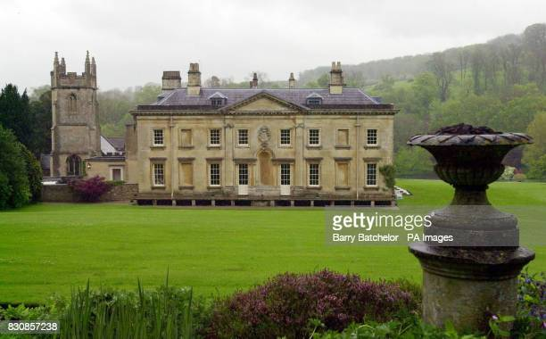 Combe Hay Bath Somerset on the day its sale was being launched The Georgian manor house that belonged to the family behind jammakers James Robertson...