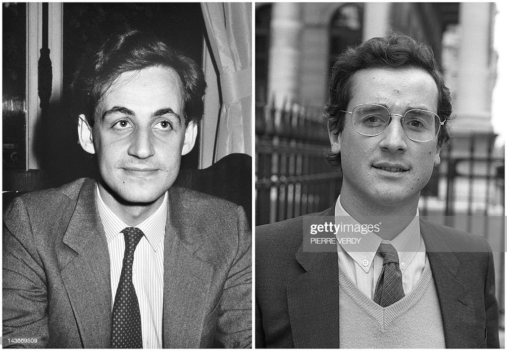 A combination made on May 2 2012 shows two files pictures one taken on April 29 1983 of Nicolas Sarkozy then mayor of NeuillysurSeine and the other...