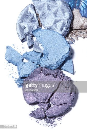 Eyeshadow stock photos and pictures getty images - Combination of blue and purple ...
