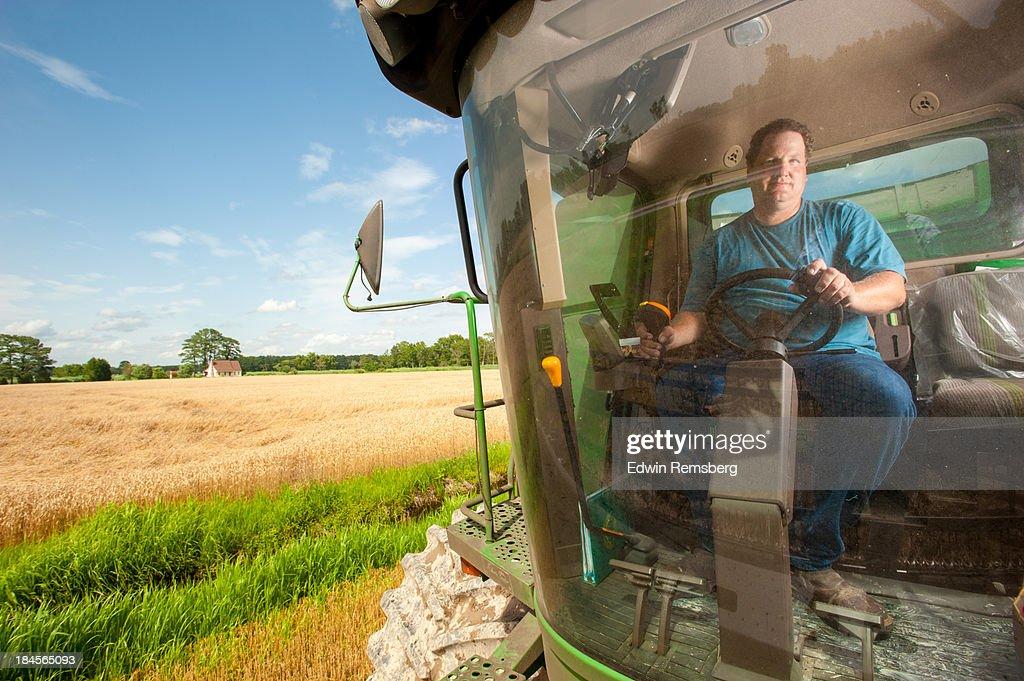 Combine driver