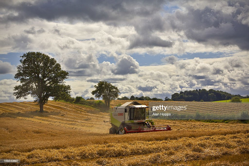 CONTENT] Combining spring barley near Richhill, Co Armagh, Northern Ireland on 19/9/12.