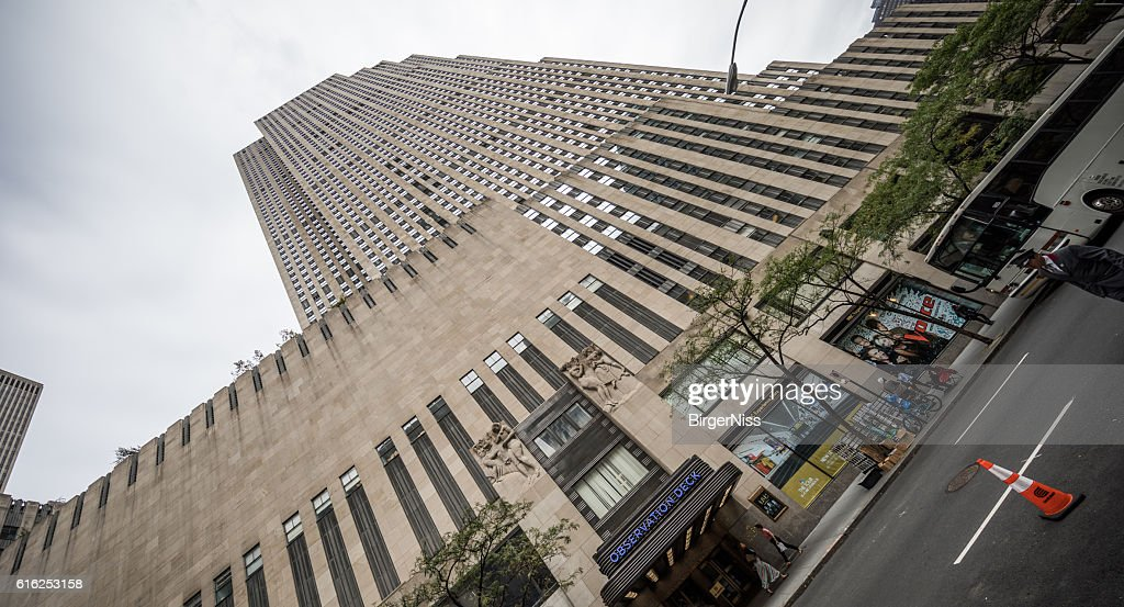 Comcast Building - The Rock, New York City, United States : Stock Photo