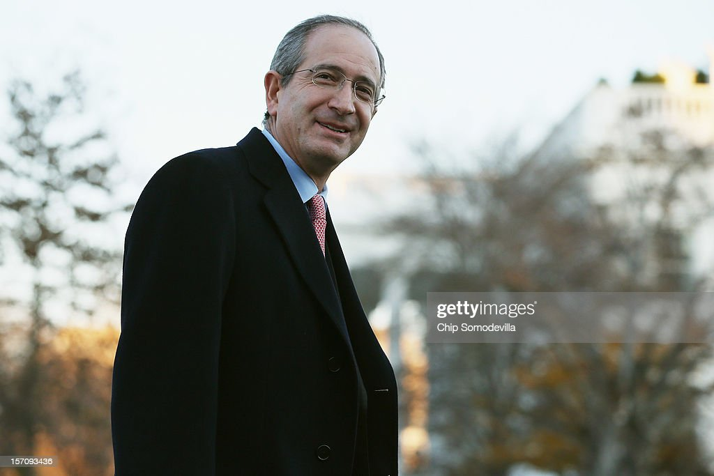 Comcast Chairman and CEO Brian Roberts arrives at the White House for a meeting with President Barack Obama and other business leaders November 28, 2012 in Washington, DC. According to the White House, the American business executives met with Obama to discuss economic growth and deficit reduction.