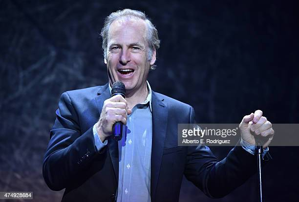 Comdian Bob Odenkirk attends The Alliance For Children's Rights' Right To Laugh Benefit at The Avalon on May 27 2015 in Hollywood California