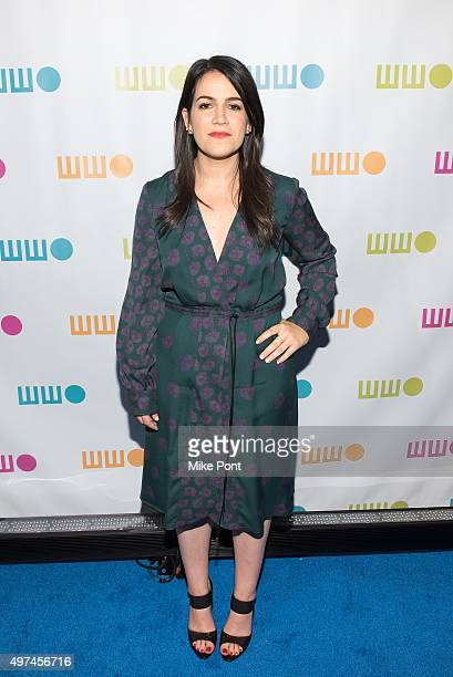 Comedian Abbi Jacobson attends the 2015 Worldwide Orphan Gala at Cipriani Wall Street on November 16 2015 in New York City