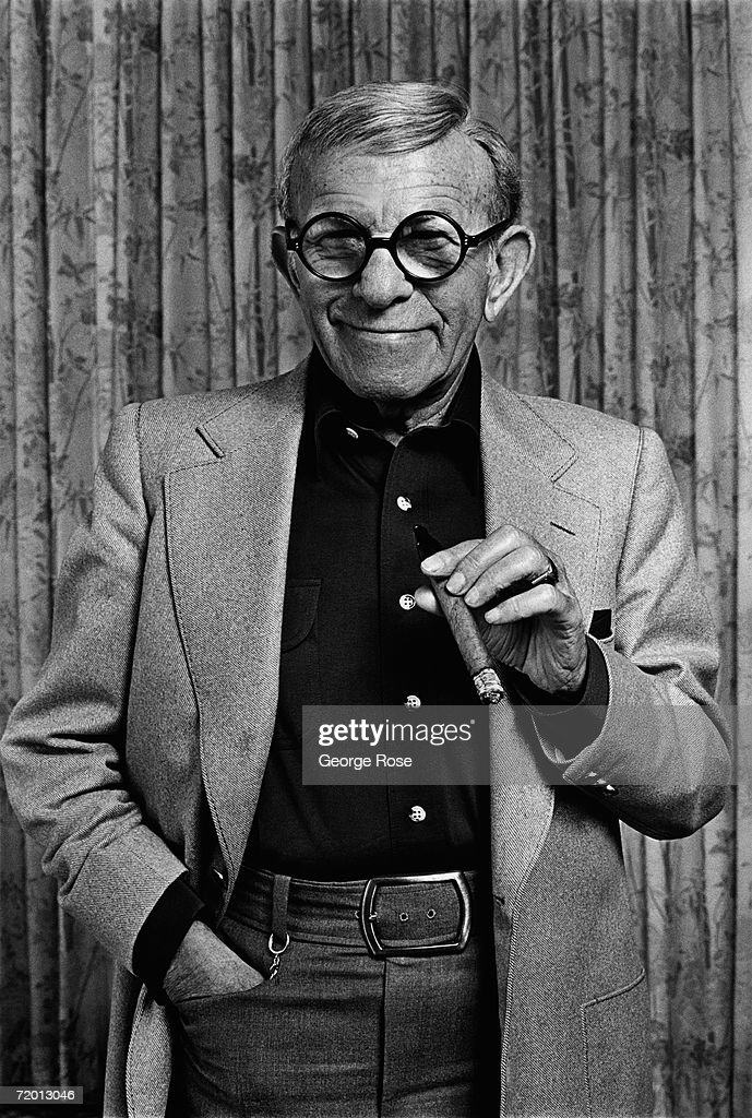 Comedian, actor and entertainer, <a gi-track='captionPersonalityLinkClicked' href=/galleries/search?phrase=George+Burns+-+Actor&family=editorial&specificpeople=90939 ng-click='$event.stopPropagation()'>George Burns</a>, poses during a 1980 Beverly Hills, California, photo portrait session. Burns was one of the pioneers of television, starring with his wife Gracie Allen in 'The Burns and Allen' show during the 1950s.