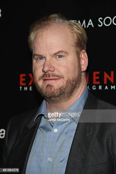 Comedian/ Actor Jim Gaffigan attends The New York Film Festival Premiere Of Magnolia Pictures' Experimenter hosted by Montblanc The Cinema Society at...
