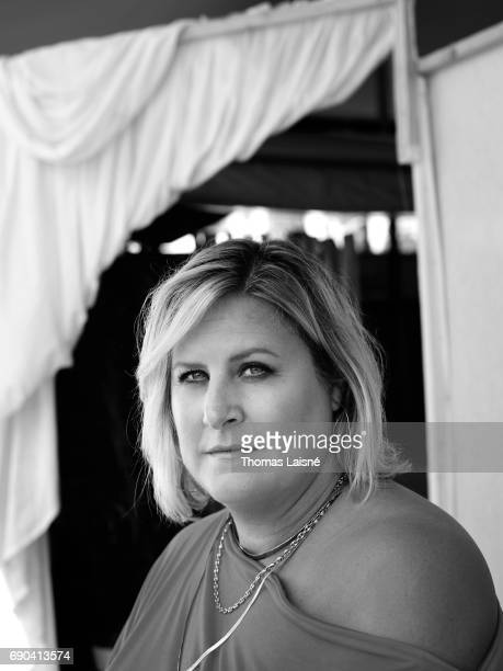 Comedian actor writer and cabaret performer Bridget Everett is photographed on May 25 2017 in Cannes France