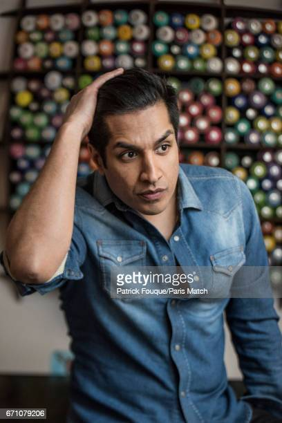 Comedian actor writer and producer Sugar Sammy aka Samir Khullar is photographed for Paris Match on March 15 2017 in Paris France