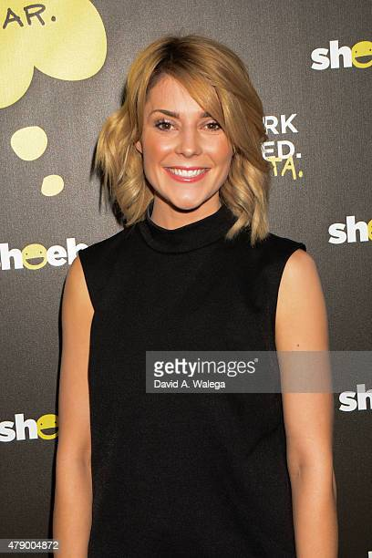 Comedian/ actress Grace Helbig attends the Hallmark Shoebox 29th Birthday Celebration at The Improv Comedy Club June 10 2015 in Hollywood California
