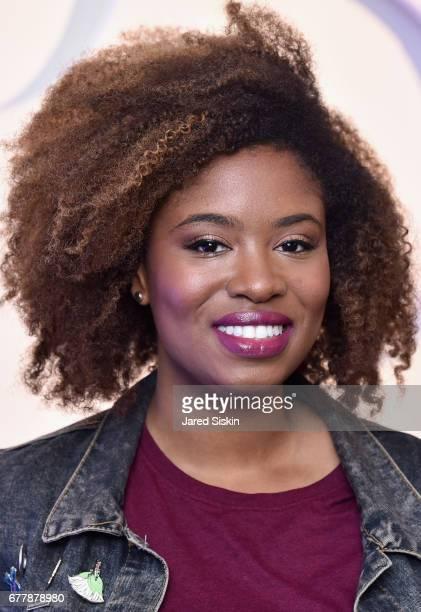 Comedian Akilah Hughes attends POPSUGAR 2017 Digital NewFront at Industria Studios on May 3 2017 in New York City