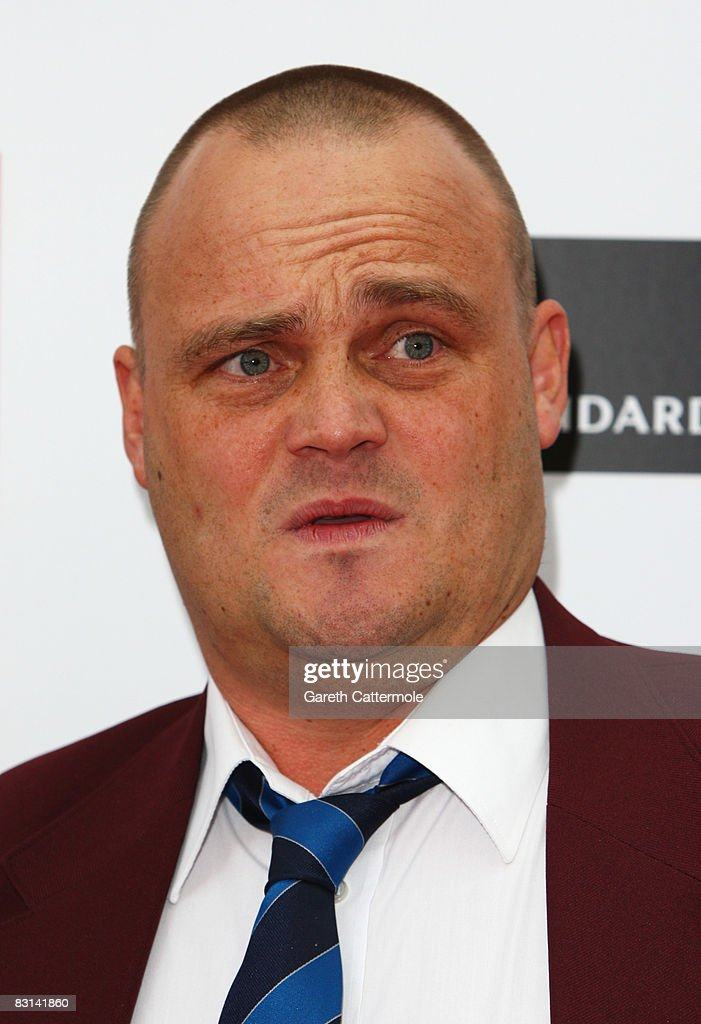 Comedian Al Murray attends the Q Awards 2008 held at the Grosvenor House Hotel on October 6 2008 in London England