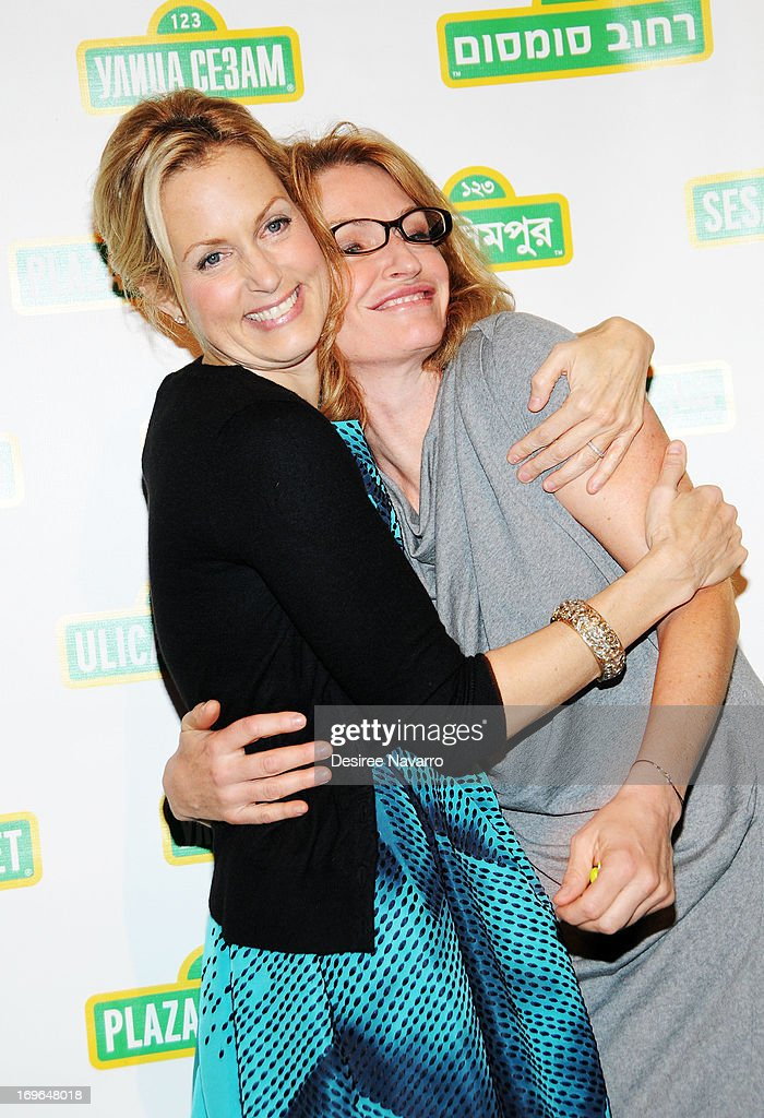 Comedian Ali Wentworth and Ann Lembeck attend the 11th annual Sesame Street Workshop Benefit Gala at Cipriani 42nd Street on May 29, 2013 in New York City.