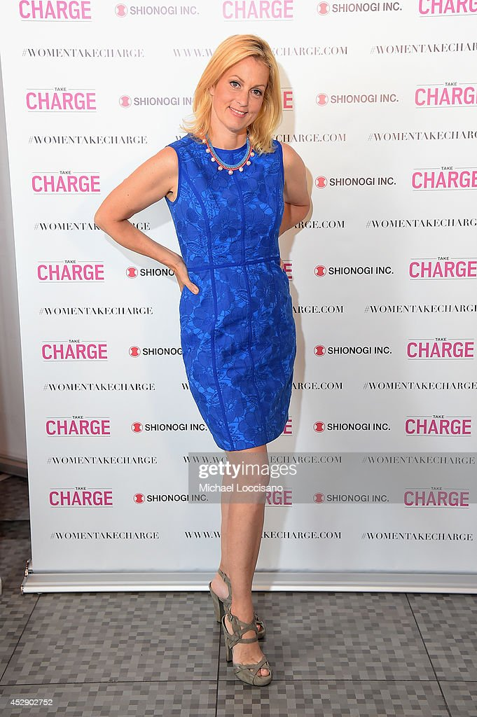 Comedian Ali Wentworth Teams Up with Shionogi Inc. to Launch 'Women Take Charge' Campaign at Robert Restaurant on July 29, 2014 in New York City.