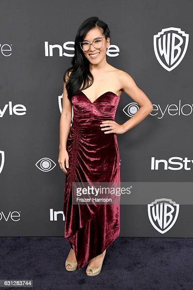 Comedian Ali Wong attends the 18th Annual PostGolden Globes Party hosted by Warner Bros Pictures and InStyle at The Beverly Hilton Hotel on January 8...