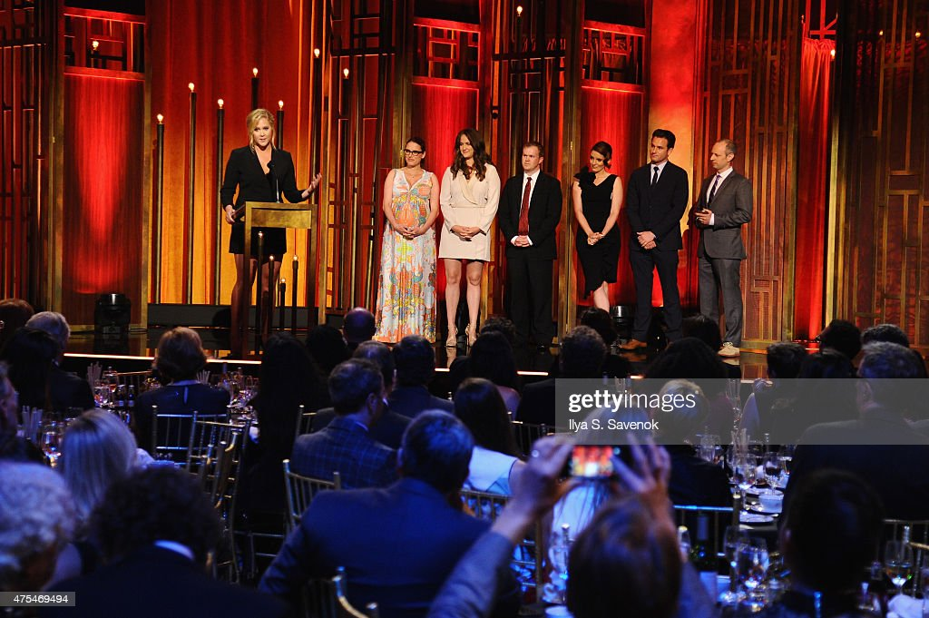 Comedian Amy Schumer accepts award onstage at the The 74th Annual Peabody Awards Ceremony at Cipriani Wall Street on May 31 2015 in New York City