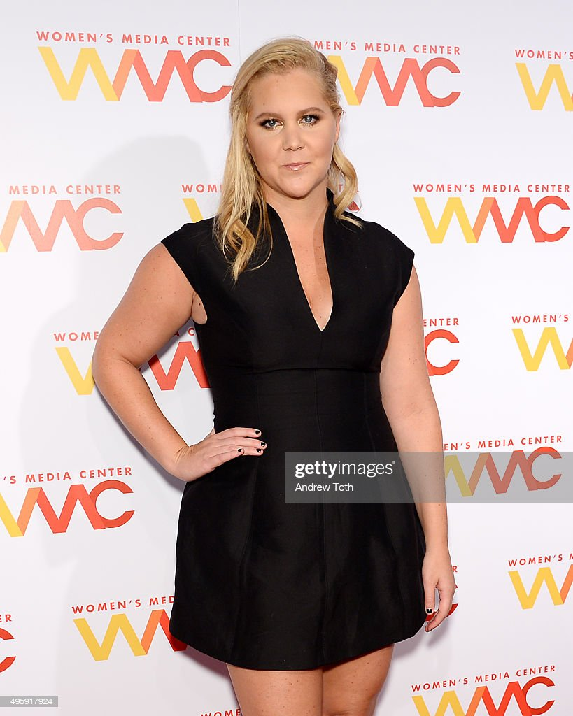 Comedian Amy Schumer attends the 2015 Women's Media Awards presented by The Women's Media Center at Capitale on November 5 2015 in New York City