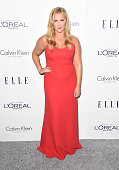 Comedian Amy Schumer attends the 22nd Annual ELLE Women in Hollywood Awards at Four Seasons Hotel Los Angeles at Beverly Hills on October 19 2015 in...