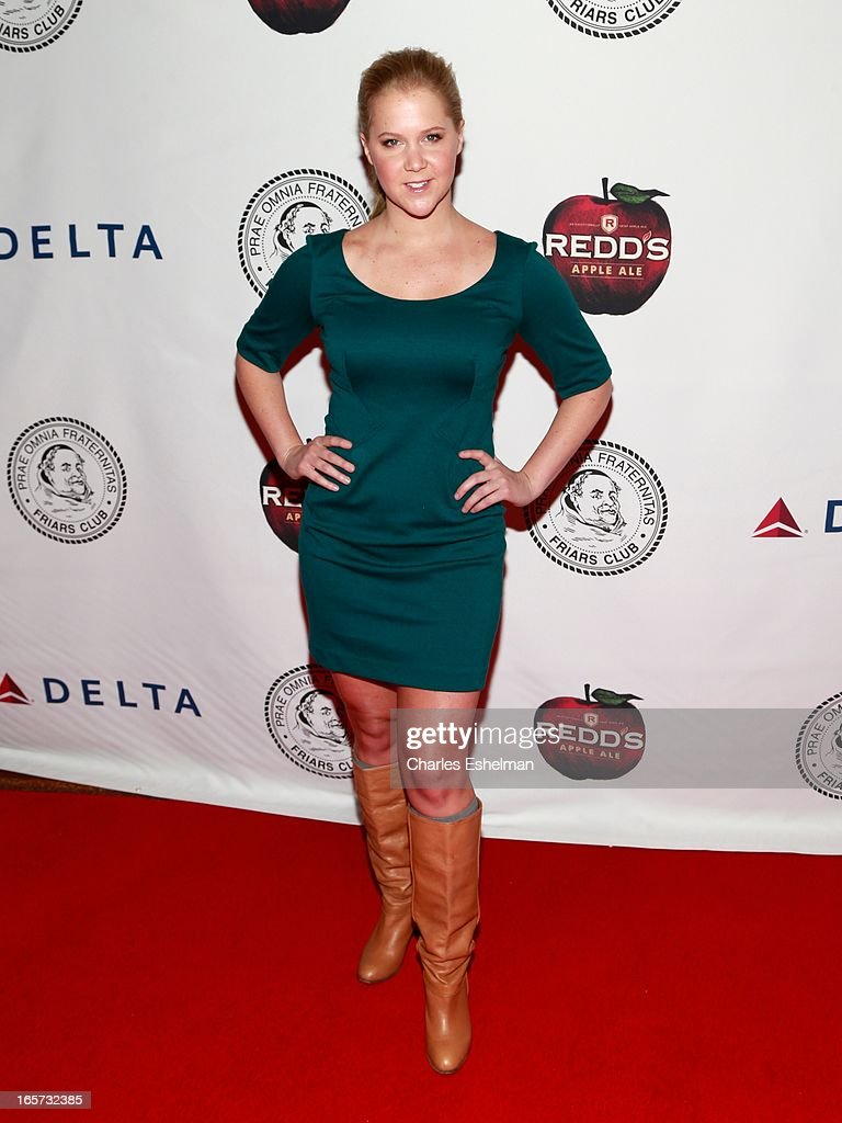 Comedian Amy Schumer attends The Friars Club Roast Honors Jack Black at New York Hilton and Towers on April 5, 2013 in New York City.