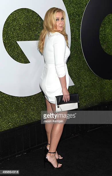Comedian Amy Schumer attends the GQ 20th Anniversary Men Of The Year Party at Chateau Marmont on December 3 2015 in Los Angeles California