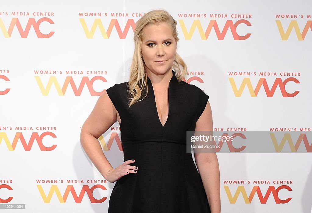 Comedian Amy Schumer attends The Women's Media Center 2015 Women's Media Awards at Capitale on November 5 2015 in New York City