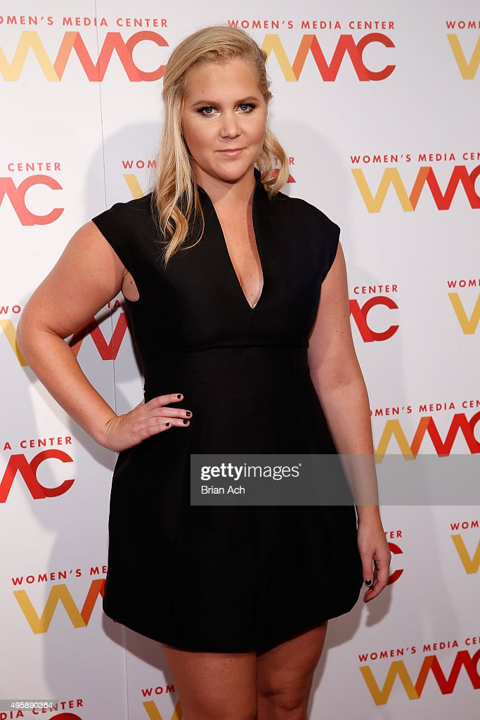 Comedian Amy Schumer attends The Women's Media Center 2015 Women's Media Awards on November 5, 2015 in New York City.