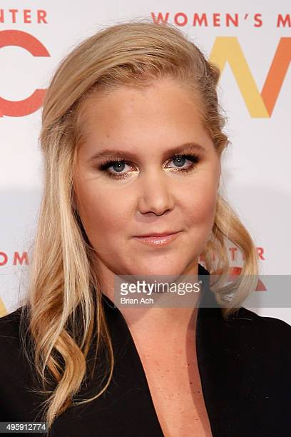 Comedian Amy Schumer attends The Women's Media Center 2015 Women's Media Awards on November 5 2015 in New York City