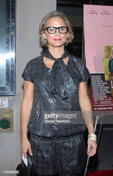 Comedian Amy Sedaris at the NY Premiere Of 'Lars And The Real Girl' at the Paris Theatre in New York October 3 2007