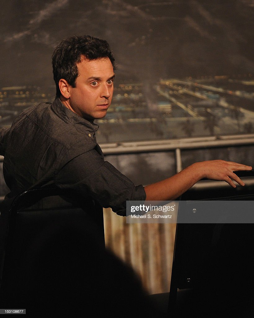 Comedian and actor Brad Morris performs during the Chicago Board of Improv Comedy Show at The Ice House Comedy Club on September 29, 2012 in Pasadena, California.