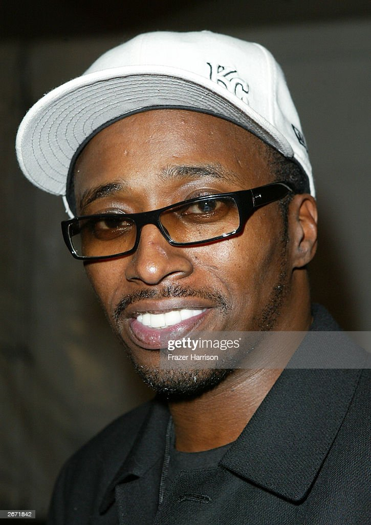 Comedian and actor Eddie Griffin poses backstage at the 2003 Radio Music Awards at the Aladdin Hotel and Casino, October 27, 2003 in Las Vegas, Nevada.