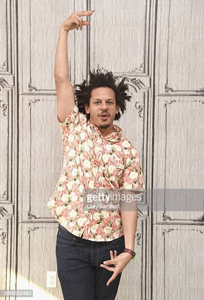 Comedian and actor Eric Andre attends AOL BUILD Presents to discuss 'The Eric Andre Show' at AOL HQ on July 29 2016 in New York City