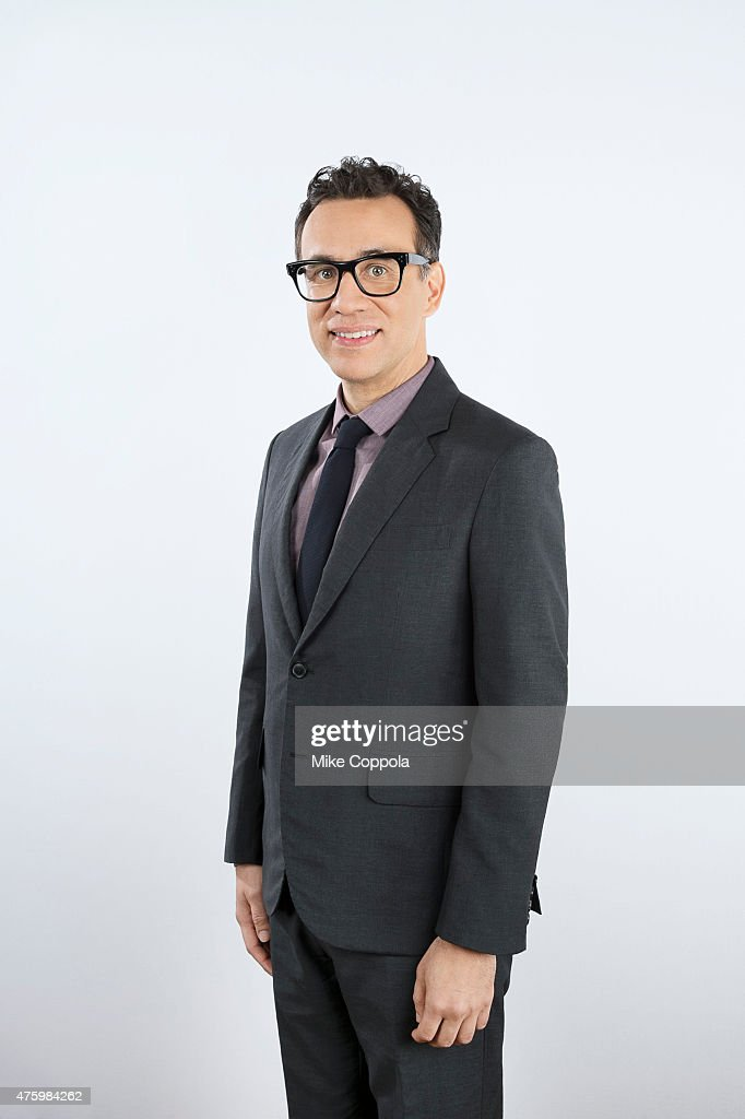 Comedian and actor Fred Armisen poses for a portrait at The 74th Annual Peabody Awards Ceremony at Cipriani Wall Street on May 31 2015 in New York...