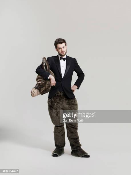 Comedian and actor Jack Whitehall is photographed for Tatler on August 10 2013 in London England