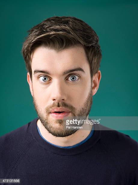 Comedian and actor Jack Whitehall is photographed for the Sunday Times magazine on October 18 2014 in London England