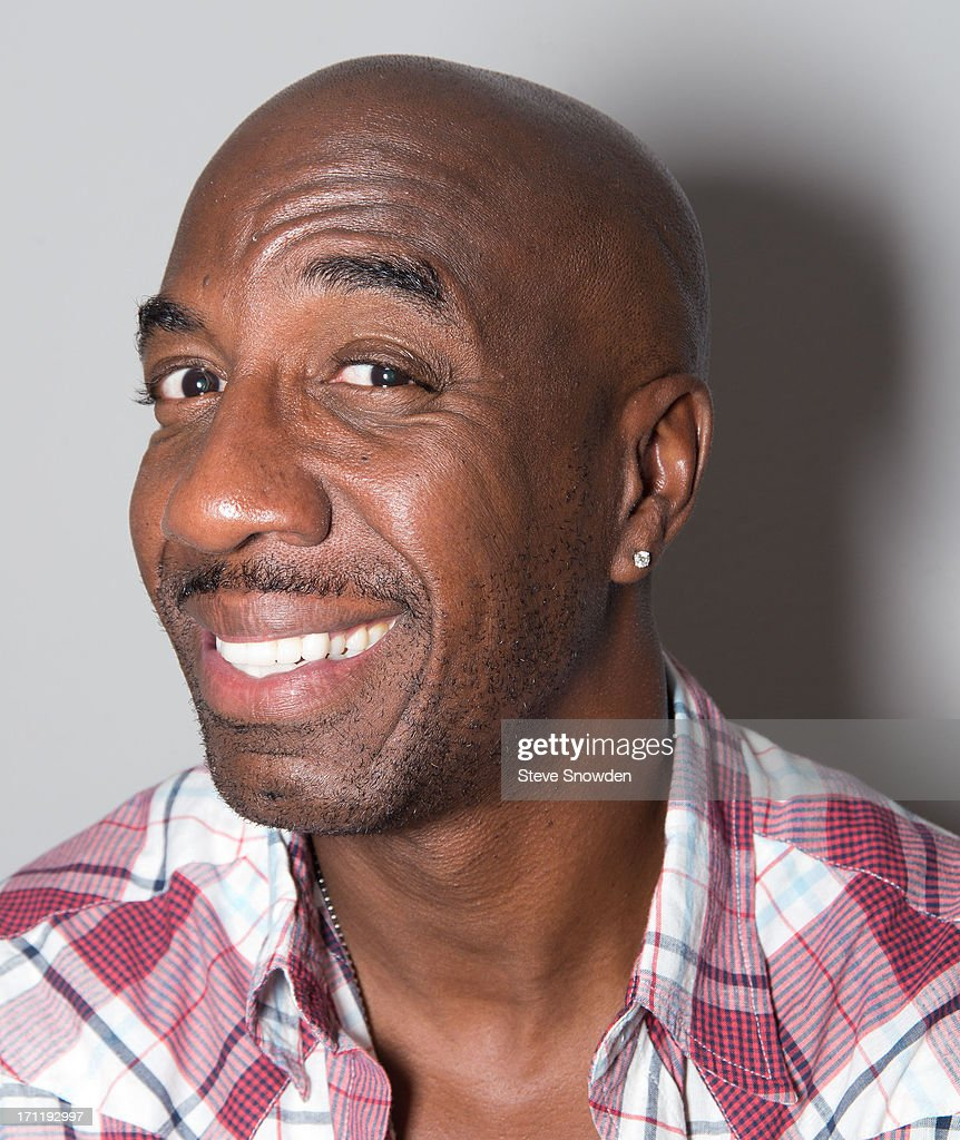 Comedian and actor J.B. Smoove (Smurfs 2, Curb Your Enthusiasm, Everybody Hates Chris, SNL) poses at Route 66 Casino's Legends Theater on June 22, 2013 in Albuquerque, New Mexico. Smoove is in Albuquerque working on his latest movie, 'Search Party' and he stopped by Legends Theater to watch a performance by comedians Cheech and Chong.