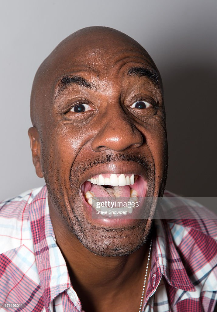 Comedian and actor <a gi-track='captionPersonalityLinkClicked' href=/galleries/search?phrase=J.B.+Smoove&family=editorial&specificpeople=3035162 ng-click='$event.stopPropagation()'>J.B. Smoove</a> (Smurfs 2, Curb Your Enthusiasm, Everybody Hates Chris, SNL) poses at Route 66 Casino's Legends Theater on June 22, 2013 in Albuquerque, New Mexico. Smoove is in Albuquerque working on his latest movie, 'Search Party' and he stopped by Legends Theater to watch a performance by comedians Cheech and Chong.