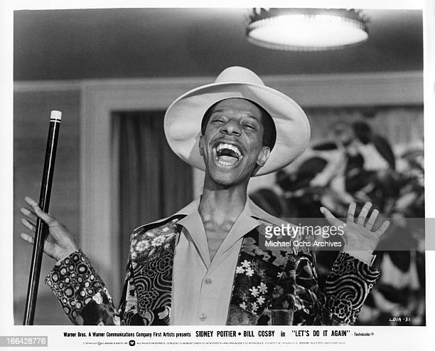 Comedian and actor Jimmie Walker portrays boxer Bootney Farnsworth the Warner Bros comedy 'Let's Do It Again' in 1975