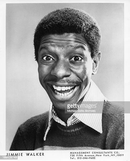 Comedian and actor Jimmy Walker poses for a portrait circa 1970