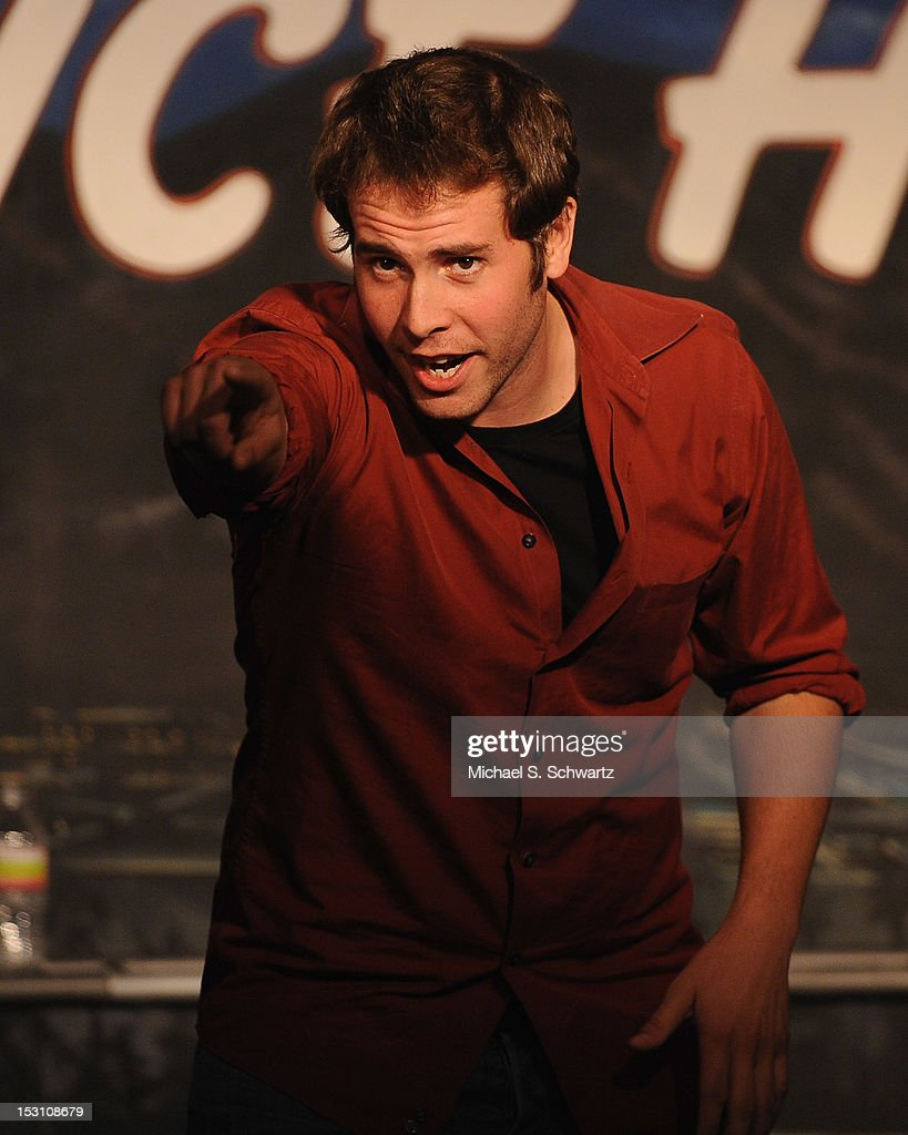 Comedian and actor Jon Barinhlotz performs during the Chicago Board of Improv Comedy Show at The Ice House Comedy Club on September 29, 2012 in Pasadena, California.