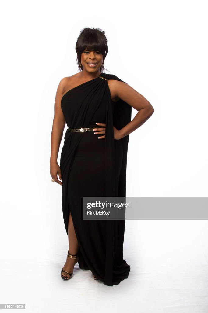 Comedian and actress Niecy Nash is photographed at the NAACP Image Awards for Los Angeles Times on February 1, 2013 in Los Angeles, California. PUBLISHED IMAGE.