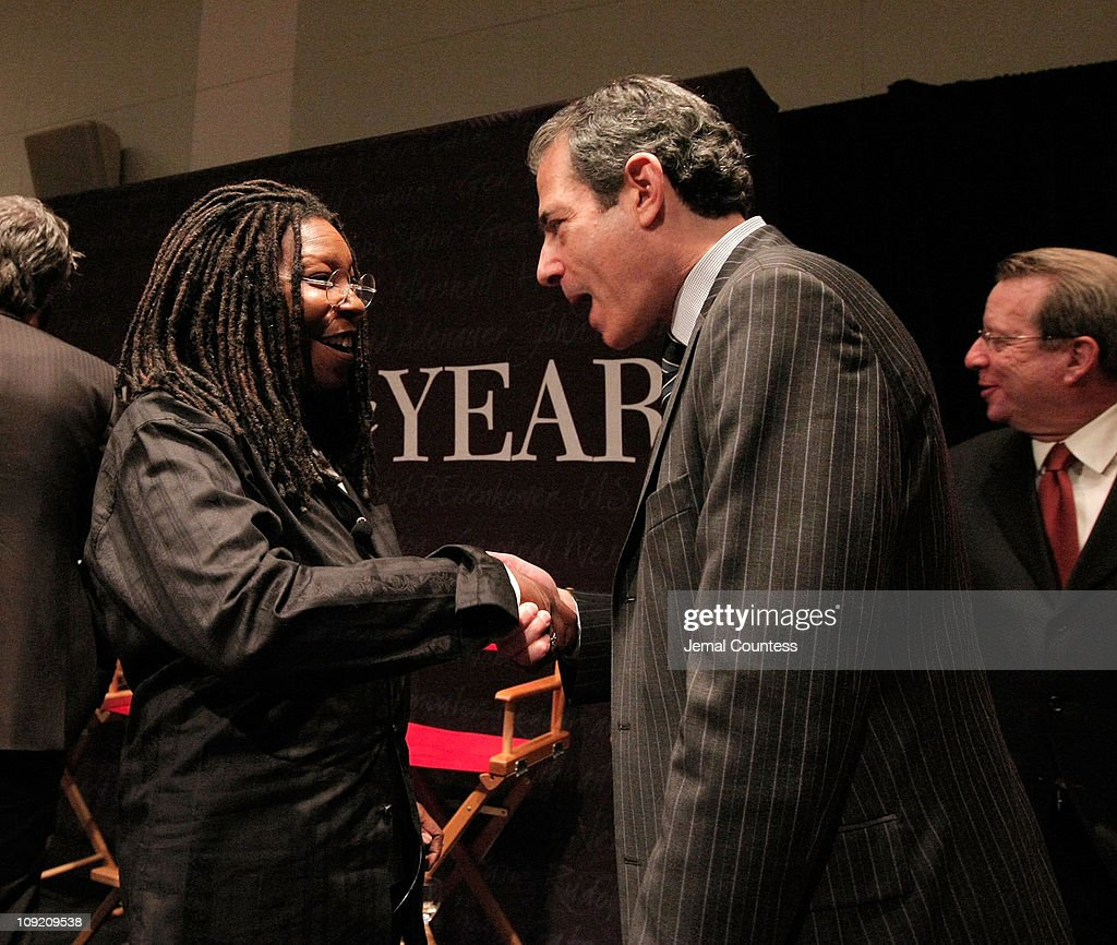 Comedian and Actress Whoppi Goldberg speaks with TIME Managing Editor Richard Stengel following the Panal Discussion at the Times Person of The Year...