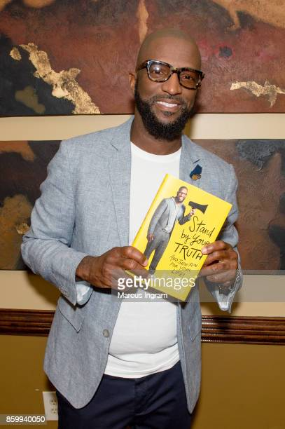 Comedian and author Rickey Smiley attends The House Of Hope Atlanta to promote his book tour 'Stand By Your Truth' on October 8 2017 in Decatur...