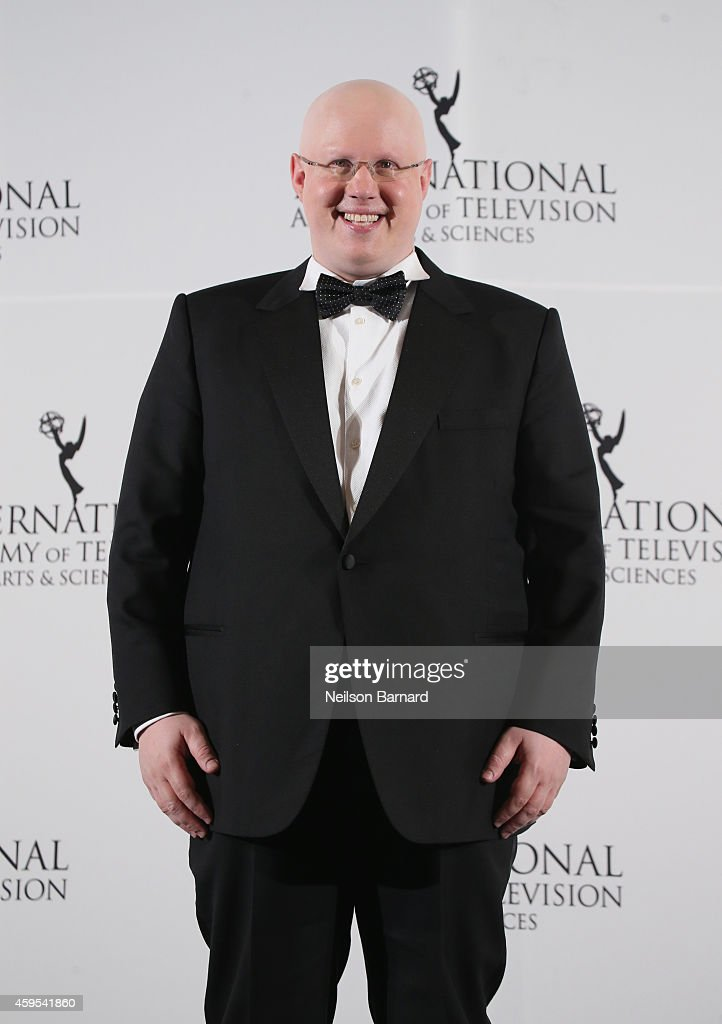 Comedian and host Matthew Lucas attends the 2014 International Academy Of Television Arts & Sciences Emmy Awards at New York Hilton on November 24, 2014 in New York City.