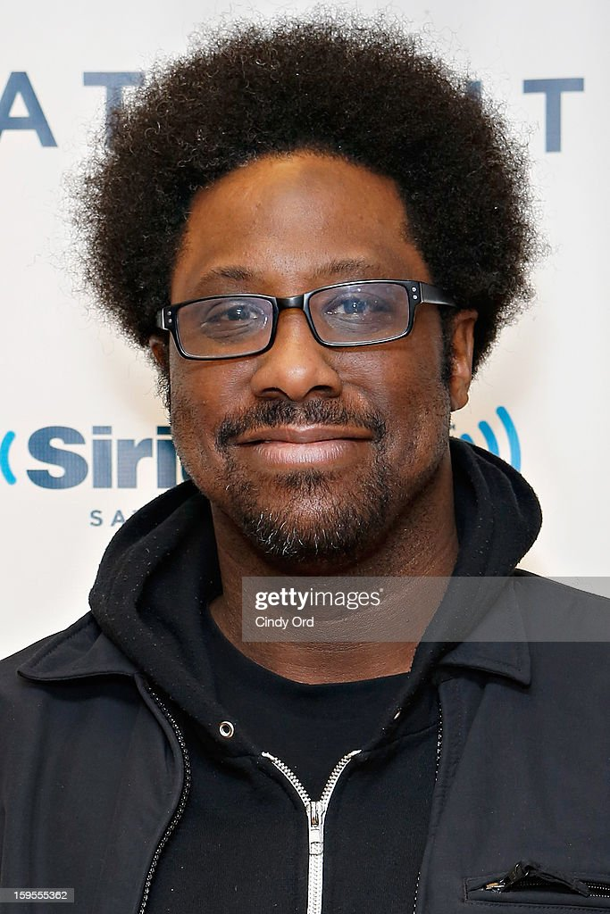 Comedian and host of 'Totally Biased with W. Kamau Bell' W. Kamau Bell visits the SiriusXM Studios on January 15, 2013 in New York City.
