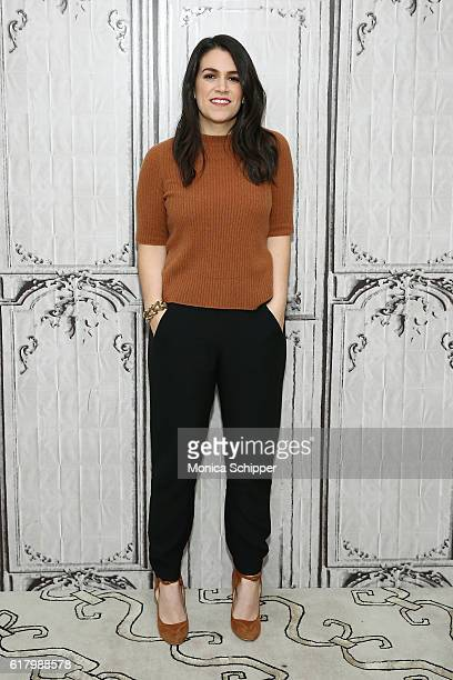 Comedian and illustrator Abbi Jacobson attends The Build Series Presents Abbi Jacobson Discussing The New Book 'Carry This Book' at AOL HQ on October...