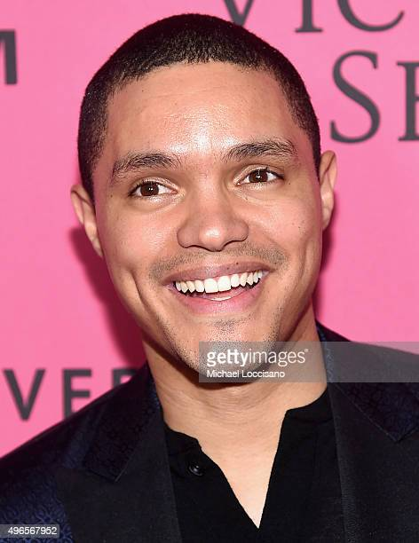 Comedian and The Daily Show host Trevor Noah attends the 2015 Victoria's Secret Fashion After Party at TAO Downtown on November 10 2015 in New York...