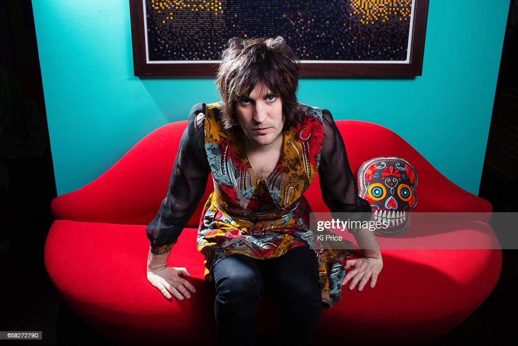 Comedian and tv presenter Noel Fielding is photographed on February 3, 2013 in London, England.
