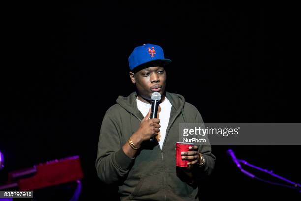 Comedian and writer Michael Che best known for his work on Saturday Night Live as coanchor on Weekend Update performs at the MGM National Harbor in...