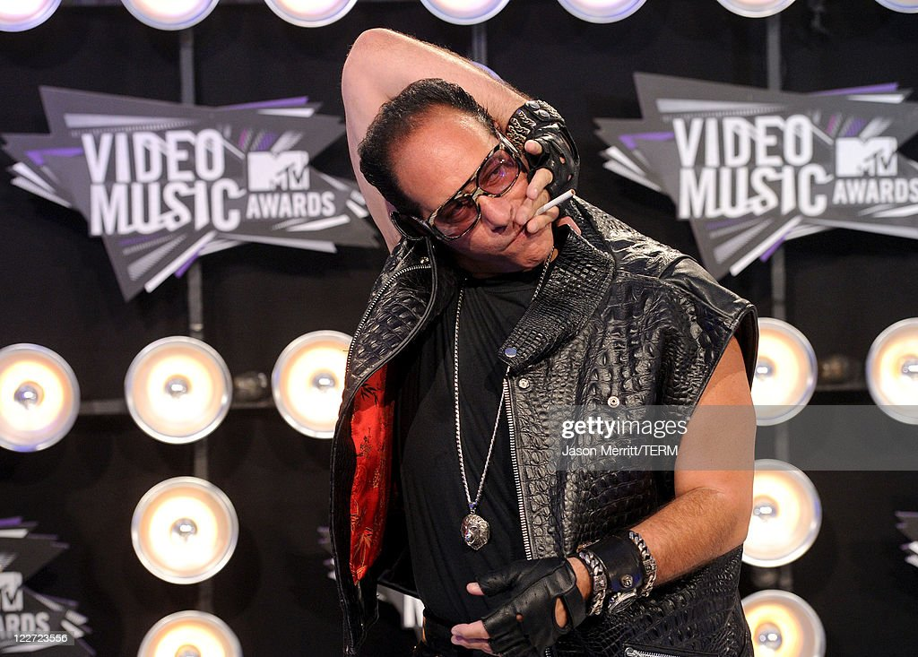 Comedian Andrew Dice Clay arrives at the 2011 MTV Video Music Awards at Nokia Theatre L.A. LIVE on August 28, 2011 in Los Angeles, California.